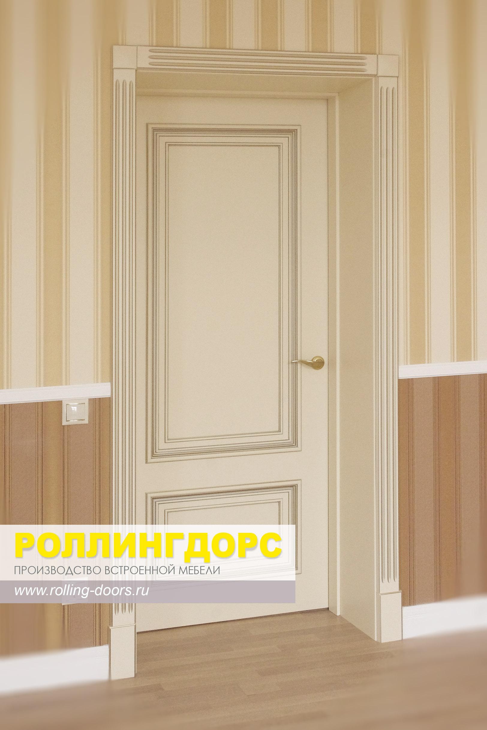 Межкомнатные двери с шумоизоляцией