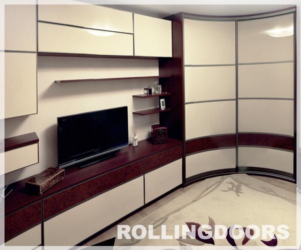 радиусный шкаф-купе | фото