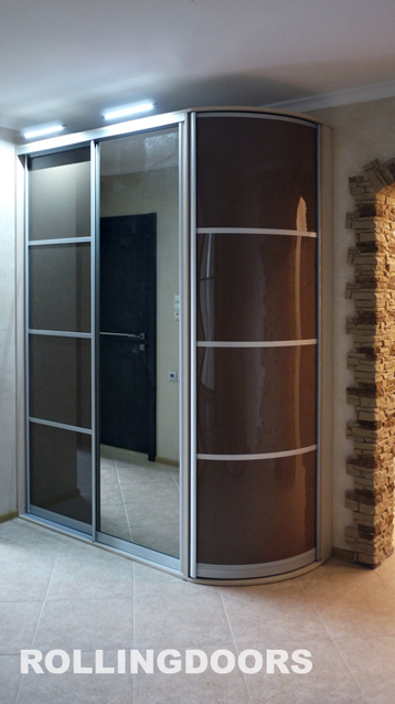Фото-галерея: эксклюзивные шкафы-купе на заказ в москве.